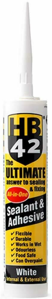 HB42 New 'All-in One' Adhesive & Sealant